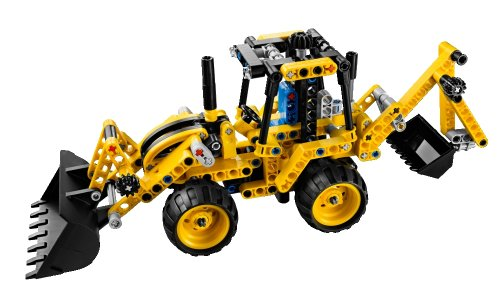 LEGO Technic 42004 Mini Backhoe Loader6