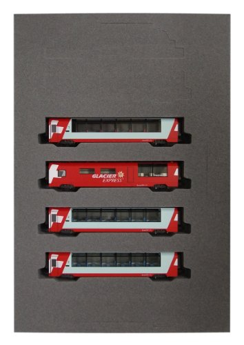 Alps Glacier Express (Add-On 4-Car Set) (Model...