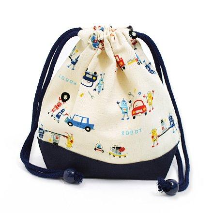 Bento Box: Drawstring Bags!