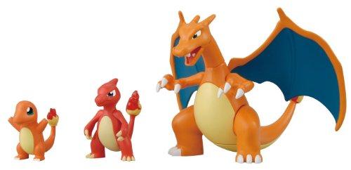 Pokemon Evolution Plastic Model Kit Charmander...