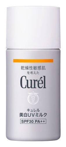 Curel UV skin lightening milk SPF30 PA++ 30ml...