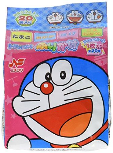 Nichifuri Doraemon Furikake Rice Seasoning 20...