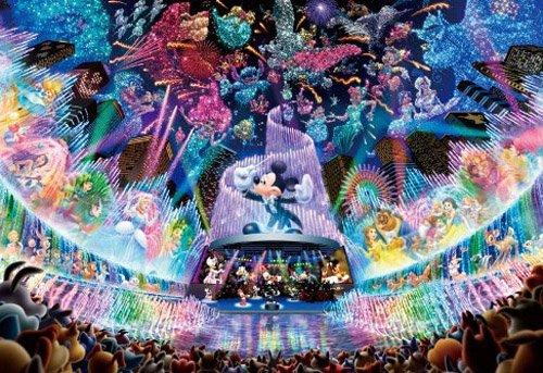 Stained Art Disney 500 piece Disney Dream...