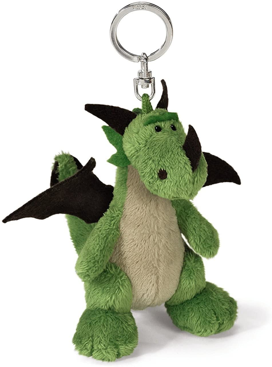 NICI Green Dragon Bean Bag Keyring