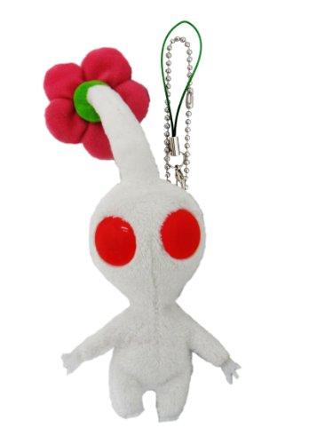 White Pikmin flower mascot (japan import)