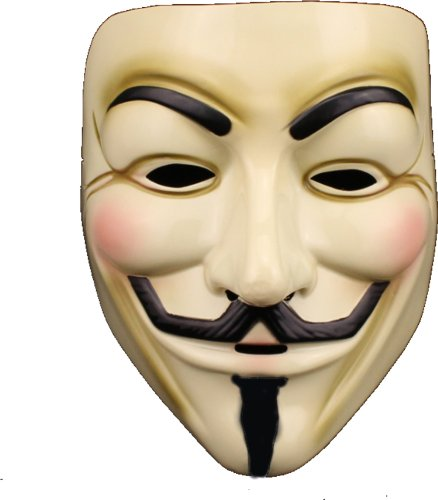 V for Vendetta Mask / Anonymous / Guy Fawkes...