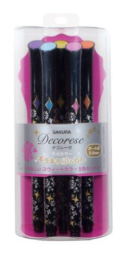 Sakura Pastel Decorese Rame Ink Ballpoint Pen...
