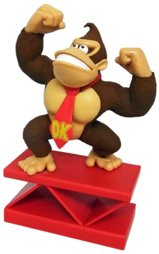Sanei Super Mario Paper Weight Figure Donkey Kong