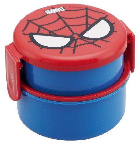 Spider-Man Round lunch box two-stage ONWR1...