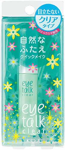 Koji Eyetalk Double Eyelid Adhesive Glue-Clear...