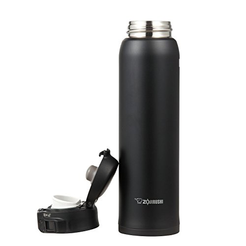 Zojirushi Sports Bottle: Zojirushi SM-SA60-BA Stainless Steel Mug 20-Ounce Black