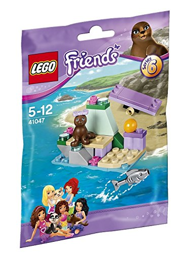 Seaside 41047 and Lego Friends seals