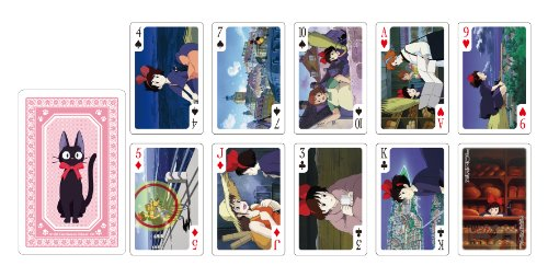 Studio Ghibli Playing Cards - Kiki's Delivery...