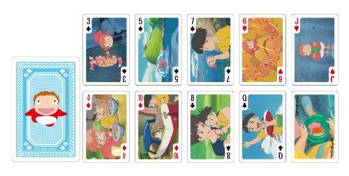 Studio Ghibli Playing Cards -Ponyo on the...
