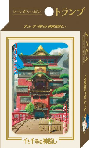Studio Ghibli Spirited Away Playing Cards Made...