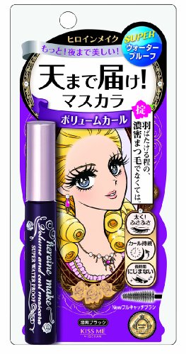 Heroine Make / Volume and Curl Mascara Super...