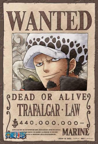 "One Piece ""WANTED"" Poster Puzzles!"