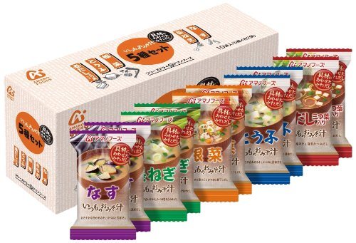 AMANO FOODS miso soup 10pc