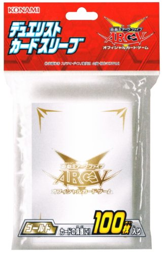Yu-Gi-Oh! ARC-V - Arc Five - Card Sleeve - Gold - (CG1436)