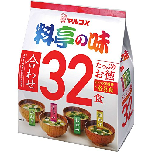 Marukome taste 32 meals of your virtue...
