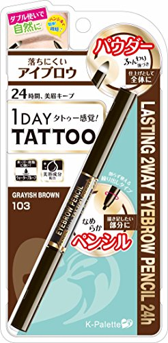 K-Palette 1 Day Tattoo Lasting 2 Way Eyebrow...