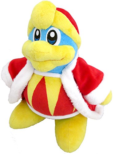 "Sanei Kirby Adventure Series King Dedede 10"" Plush"