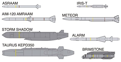 1/72 Weapon Series Europe Aircraft Weapon Set