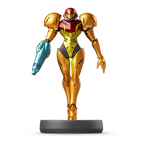 Amiibo Samus Aran - Super Smash Bros.