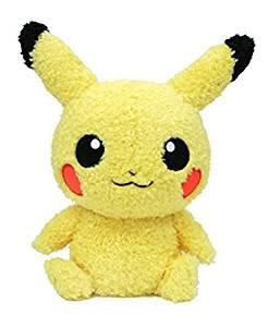 Sekiguchi Pokémon MokoMoko Male Pikachu Plush...