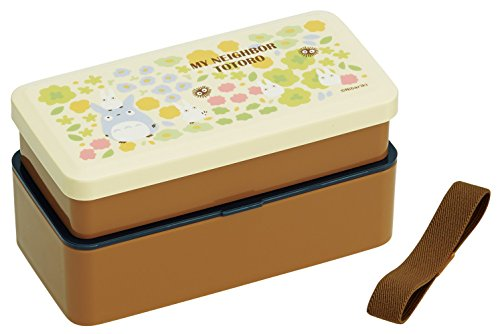 skater bento my neighbor totoro japanese style 2 tier totoro design lunch box from japan. Black Bedroom Furniture Sets. Home Design Ideas
