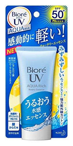 Biore Silky AQUA Rich Watery Essence SPF50+ PA++++