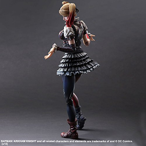 Square Enix Harley Quinn Batman Arkham Knight Play Arts KAI Action Figure Bluefin Distribution Toys MAR158227