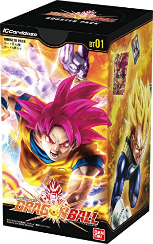 IC Cardass Dragon Ball first edition booster...