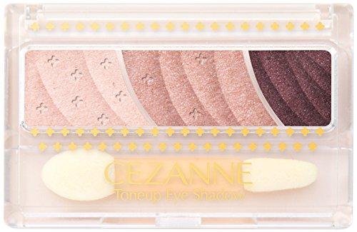 Cezanne tone up eye shadow 02 Rose Brown *AF27*