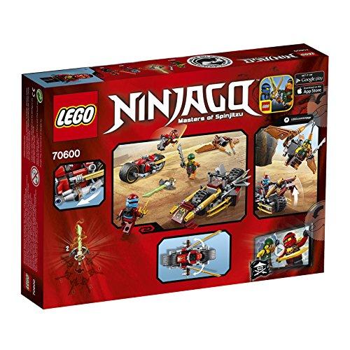 2016 NEW LEGO Ninjago 70600 Ninja Bike Chase -...
