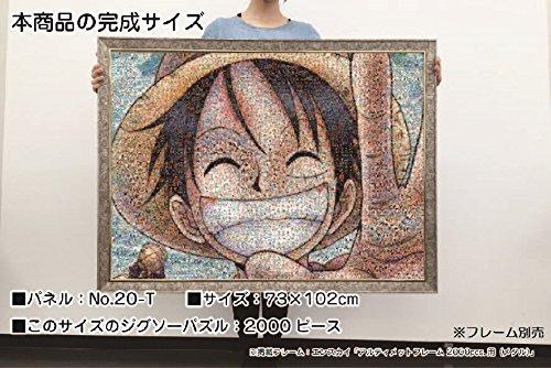 One Piece Luffy 2000 piece jigsaw puzzle...