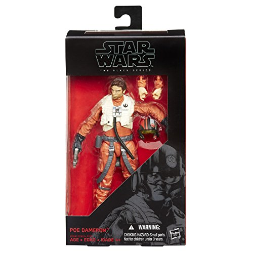 Star Wars Black Series 6 inches figures Poe...