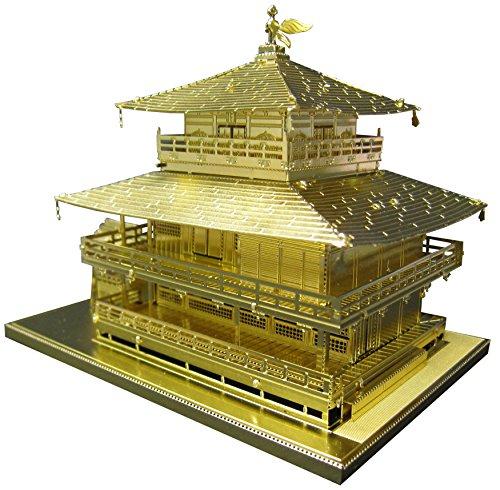 Metallic nano puzzle Gold Series Temple of the...