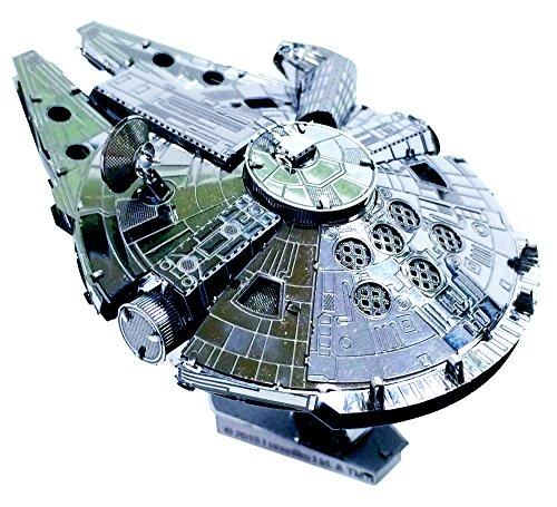 Metallic Nano puzzle Star Wars Millennium Falcon