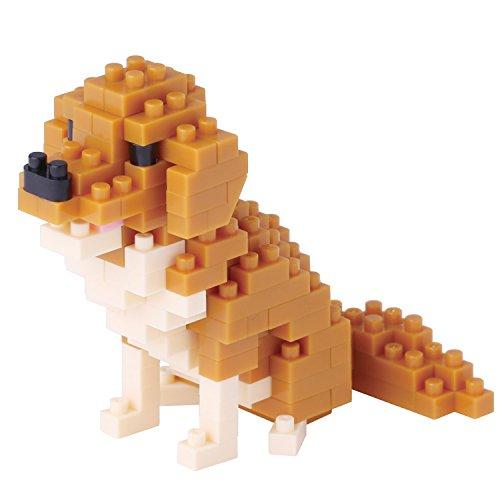 "nano block ""Golden Retriever"""