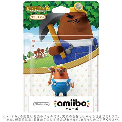 amiibo Mr. Resetti (Animal Crossing series)...