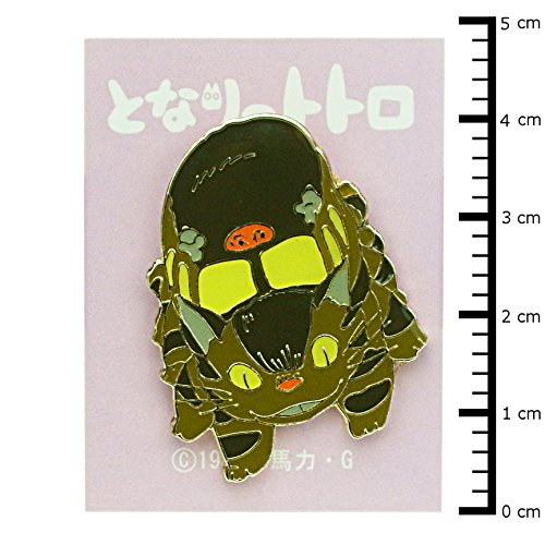 Studio Ghibli pin badge-Neko bus brooch 2 t-43