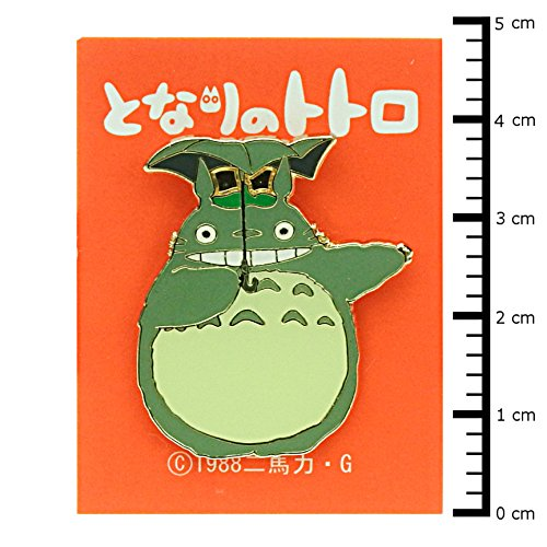 "Studio Ghibli pin badge ""-big Totoro smile T-42"