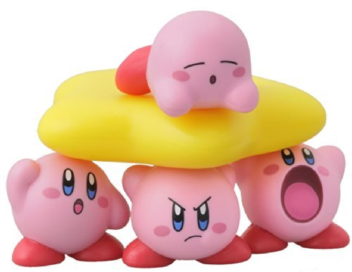 Nintendo Kirby pile up figure