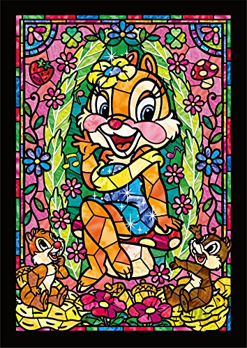 266-piece jigsaw puzzle Stained Art Chip and...