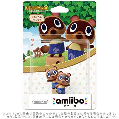 amiibo Mamekichi & Tsubukichi (Animal...