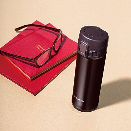 ZOJIRUSHI Stainless Steel Flask 480ml Bordeaux...