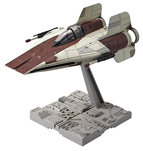 Star Wars A-Wing Starfighter 1/72 Scale Bandai...