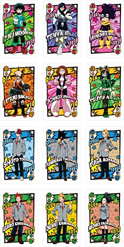 My Hero Academia Trump Cards 56 pieces