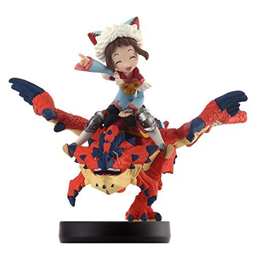 3DS amiibo One-Eyed Rathalos & Rider Girl...